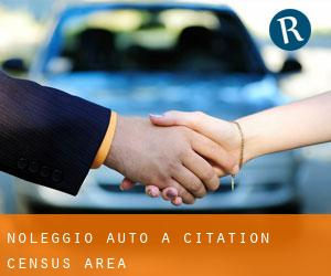 noleggio auto a Citation (census area)